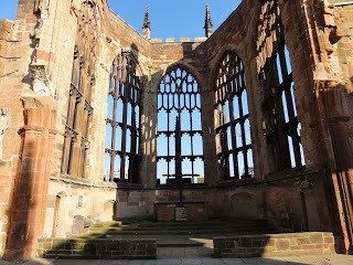 Ruine Michaelkathedraal in Coventry