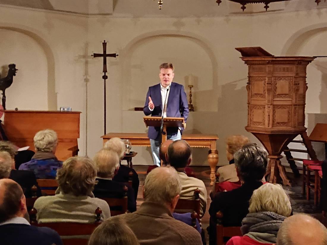 Pieter Omtzigt in Jansbeek Ekklesia