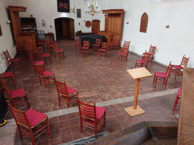 Waalse kerk coronaproof