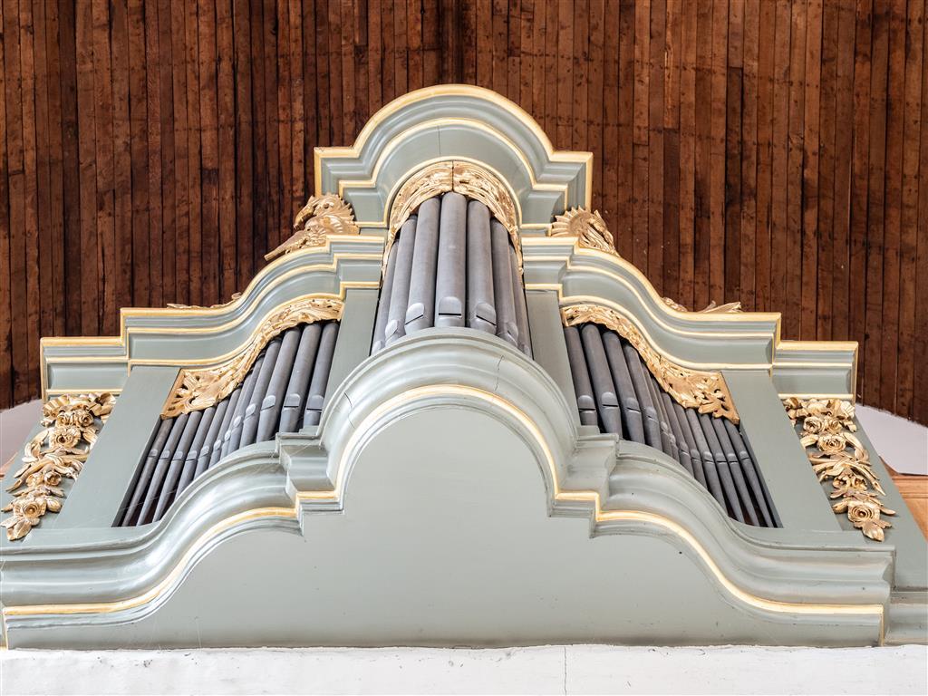 Orgel in Waalse Kerk Arnhem